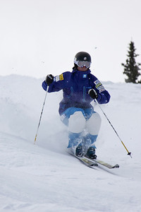 Bryan Zemba 2011 U.S. Freestyle Moguls training at Wolf Creek Photo © Eric Schramm Image may be used for editorial purposes only.