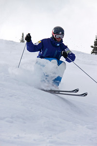 Ryan Dyer 2011 U.S. Freestyle Moguls training at Wolf Creek Photo © Eric Schramm Image may be used for editorial purposes only.