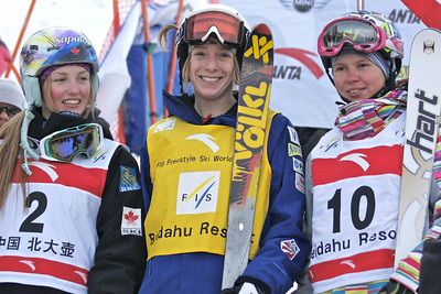 Olympic champion Hannah Kearney (Norwich, VT) won her 15th consecutive FIS Freestyle World Cup Sunday in Beida Lake, China to eclipse alpine legend Ingemar Stenmark as the record holder for the longest FIS World Cup win streak in all disciplines. (Garth Hagar - USSA)