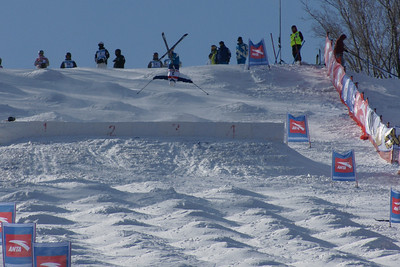 FIS Freestyle World Cup Moguls in Beida Lake, China Heather McPhie Photo © Garth Hagar/U.S. Ski Team
