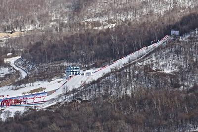 FIS Freestyle World Cup Moguls in Beida Lake, China Photo © Garth Hagar/U.S. Ski Team