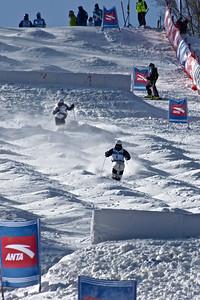 FIS Freestyle World Cup Moguls in Beida Lake, China Moguls training Photo © Garth Hagar/U.S. Ski Team