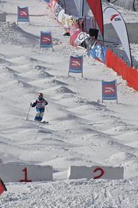 FIS Freestyle World Cup Moguls in Beida Lake, China Heidi Kloser Photo © Garth Hagar/U.S. Ski Team