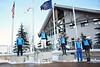 Men's Podium: (l-r) Ilya Burov, Timofel Slivets, Jon Lillis, Petr Medulich and Dylan Ferguson<br /> 2012 Columbia Super Contintental Cup <br /> Freestyle Aerials at the Utah Olympic Park<br /> Friday, December 21, 2012<br /> Photo: Sarah Brunson/U.S. Ski Team