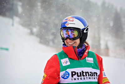 Heather McPhie Moguls training day  2013 VISA FIS Freestyle World Cup at Deer Valley, UT Photo: Sarah Brunson/U.S. Ski Team