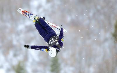 Jon Lillis Aerials training 2013 Visa FIS Freestyle World Cup at Deer Valley in Park City, Utah Photo © Kirk Paulsen