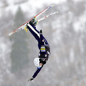 Jon Lillis Aerials training 2013 Visa FIS Freestyle World Cup at Deer Valley in Park City, Utah Photo © Kirk Paulsen
