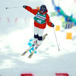 Kelsey Albert Singles moguls competition 2013 Visa FIS Freestyle World Cup at Deer Valley, Utah Photo © Kirk Paulsen
