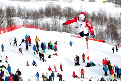 Patrick Deneen 2013 FIS Freestyle World Ski Champsionships, Voss, Norway Photo © FIS Image may be used for editorial purposes only.