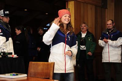 U.S. Freestyle Aerials Olympic Ski Team announcement and sendoff at Deer Valley, Utah Photo: Tom Kelly/U.S. Ski Team