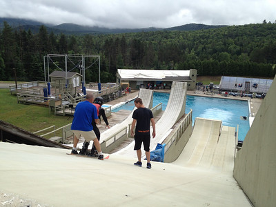 Aerials Tryout Camp at Lake Placid, NY. Photo: Doug Haney/U.S. Ski Team