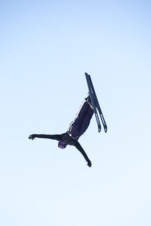 2014 Freestyle Aerials practice - UOP