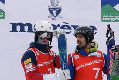 Tom Rowley 2015 Rookie of the Year 2015 FIS Freestyle Moguls World Cup Finals in Megeve, France. Photo: Garth Hagar/U.S. Ski Team