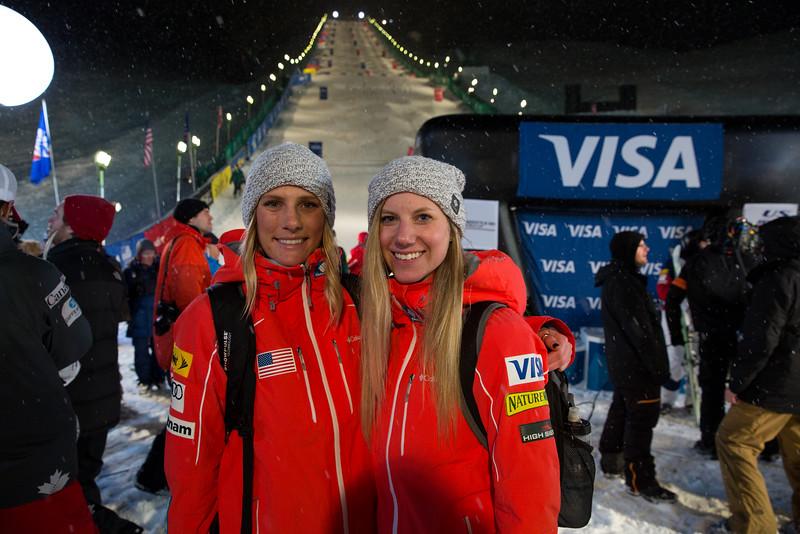 Dual moguls finals<br /> 2015 VISA Freestyle International FIS World Cup at Deer Valley<br /> Photo © Kirk Paulsen