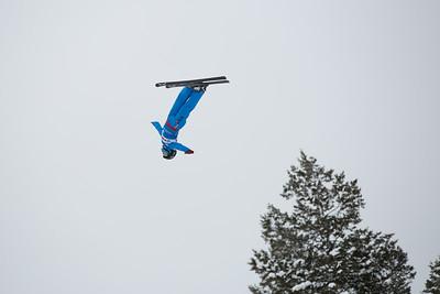 Xin Zhang Aerials 2016 FIS Visa Freestyle International World Cup - Deer Valley Photo: U.S. Ski Team