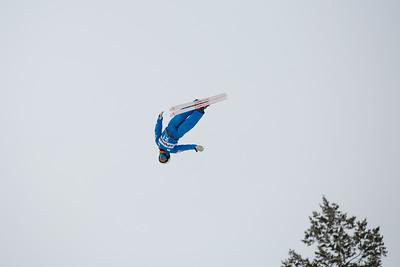 Alex Bowen Aerials 2016 FIS Visa Freestyle International World Cup - Deer Valley Photo: U.S. Ski Team