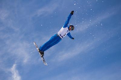 205-16 U.S. Freestyle Aerials Team practice