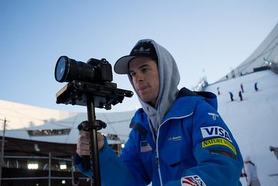 Mac Bohonnon FIS Freestyle Aerials World Cup - Beijing, China Photo: Greg Heuer/U.S. Ski Team