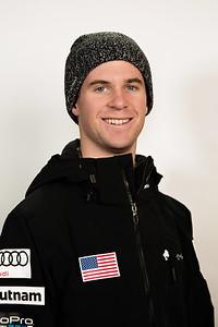 Mac Bohonnon 2016-17 U.S. Freestyle Aerials Ski Team Photo: U.S. Ski Team