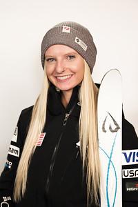 Kiley McKinnon 2016-17 U.S. Freestyle Aerials Ski Team Photo: U.S. Ski Team