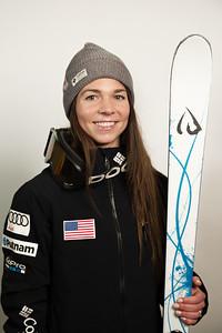 Nessa Dziemian 2016-17 U.S. Freestyle Moguls Ski Team Photo: U.S. Ski Team