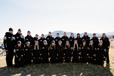 2016-17 U.S. Freestyle Aerials Ski Team Photo: U.S. Ski Team