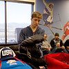 2016 U.S. Freestyle Aerials and Moguls Ski Team Columbia uniform unveiling at the Center of Excellence<br /> Photo: U.S. Ski Team