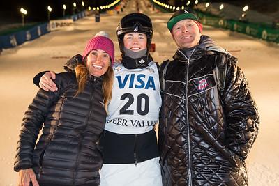Jaelin Kauf Dual Moguls 2017 Visa Freestyle International World Cup at Deer Valley Photo © Steven Earl