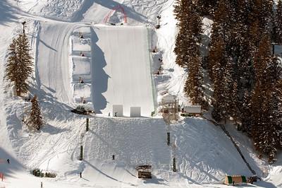 Final Aerials Prep at Deer Valley