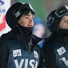 Emerson Smith and Dylan Walczyk<br /> Dual Moguls<br /> 2017 Visa Freestyle International World Cup at Deer Valley<br /> Photo © Steven Earl