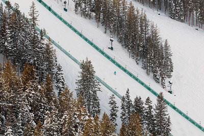 Deer Valley Moguls Run on Champion