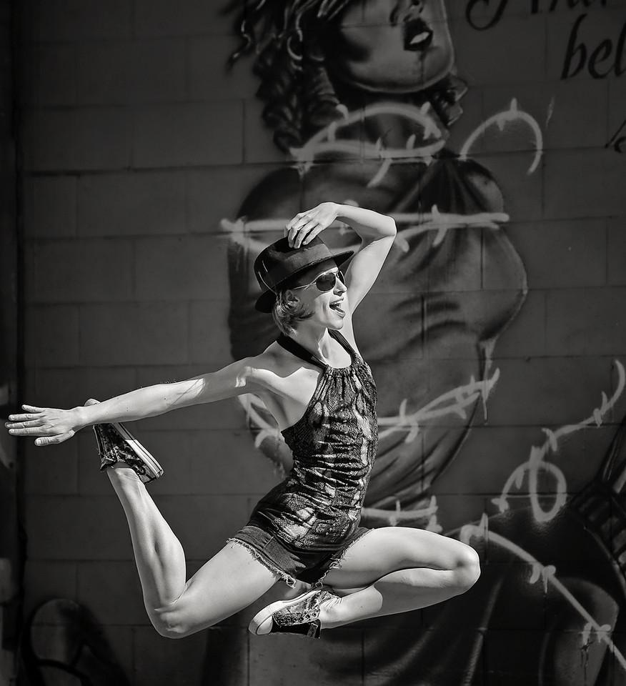 Freestyle Ballerina. Outdoor portrait of Caitlin a Boise ballerina.