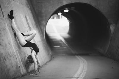 Dancer on the Boise Green Belt.  Image by Mike Reid, Boise Photographer.