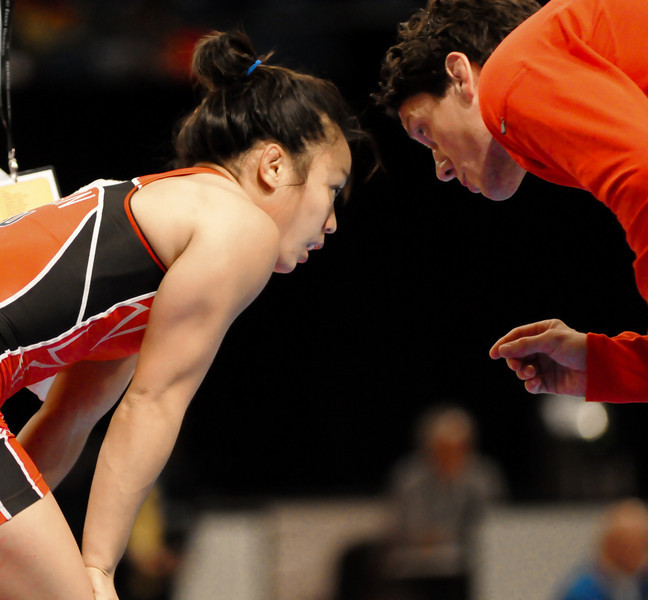 Coach Terry Steiner Tells C. Chun how to do it>
