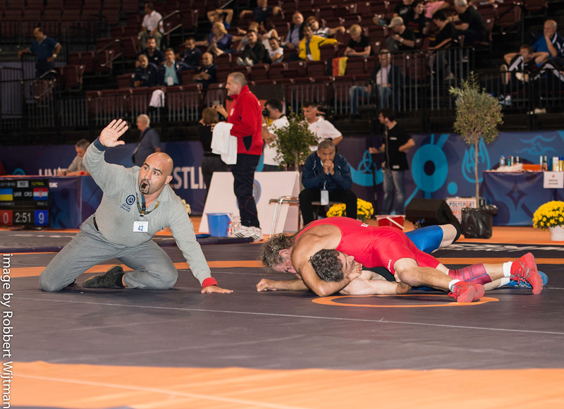 BARKMAN Steven (USA) df. SAYED MAHMOUD Ghosem (IRI) by FALL, 4-0