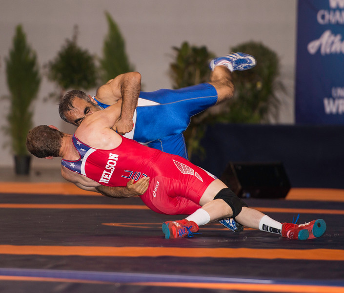 NELSON Hedj (USA) df. YILMAZ Muhittin (TUR) by FALL, 9-4