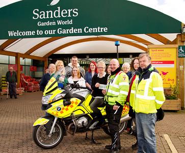 Sanders Garden World - Cheque Presentation - Saturday 1st March 2014
