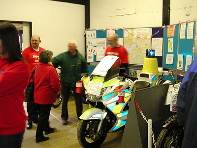 A busy stand at the Bristol Classic Bike Show 2006