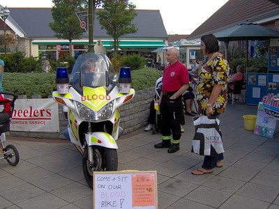 Collection at Clarkes back on 22 Sept where we raised £250