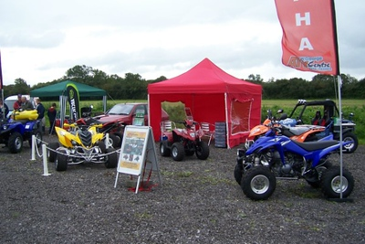 Some rather eye-catching quad bikes