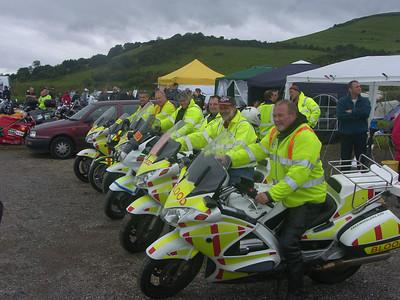 Left to right: Iain Beveridge, Allan Roberts, Robin Davey, Mark Douglas, Ian Pruce, Ray Stokes