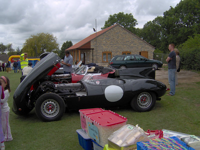 Some classic motors that were next to our stand