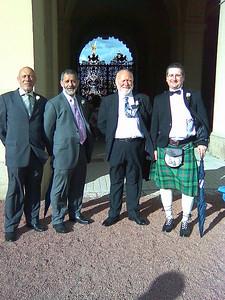 John Graves, Ian Pruce, John Woodgate, Nick Anderson