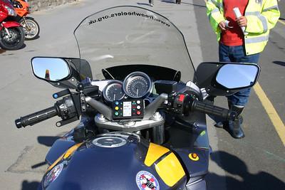 Yamaha FJR1300 cockpit