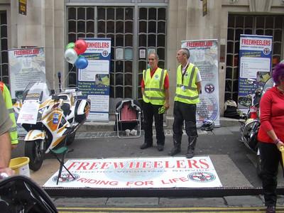 Bristol Bike Show, Corn St, 15 August 2009