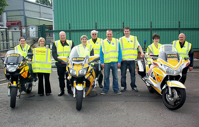 Isleport Foods in Highbridge donated some high visibility jackets to us