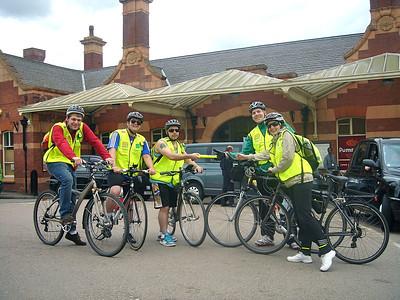 Cycle Challenge 2011 - Baton Handovers