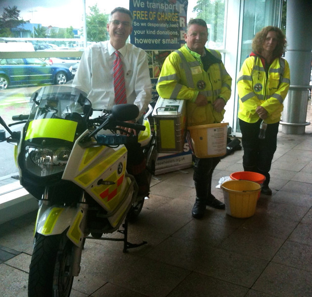 Our first ever collection at Tesco in Shepton Mallet in June raised over £960