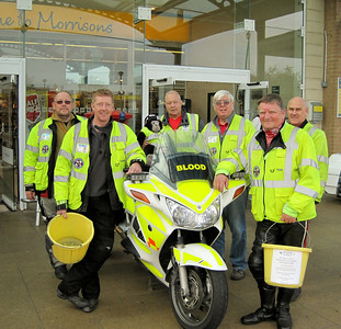 Collection at Morrisons, Weston-super-Mare, October 2011