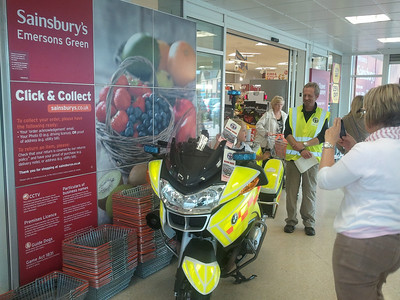 Sainsbury's Emersons Green, August 2011